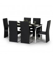 Tempo Dining Set With 6 Chairs