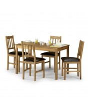 Julian Bowen Coxmoor 4 Seat Pine Dining Set