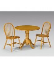 Julian Bowen Dundee 2 Seat Pine Dining Set