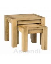 Bentley Designs Lyon Oak Nest of Tables