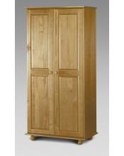 Julian Bowen Pine 2 Door Wardrobe