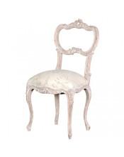 Rococo Chair in Beige & Cream