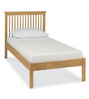 Bentley Designs Atlanta Oak Single ( 90cm ) Low Footend Bed Frame